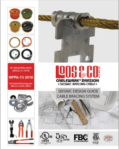 2016 NFPA Seismic Bracing Cable