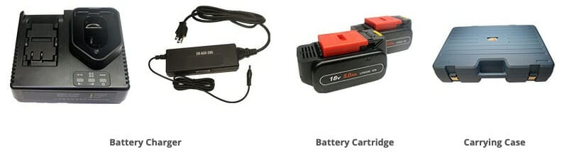 Locoloc® SL-7NDK-SB Battery Handswager Accessories