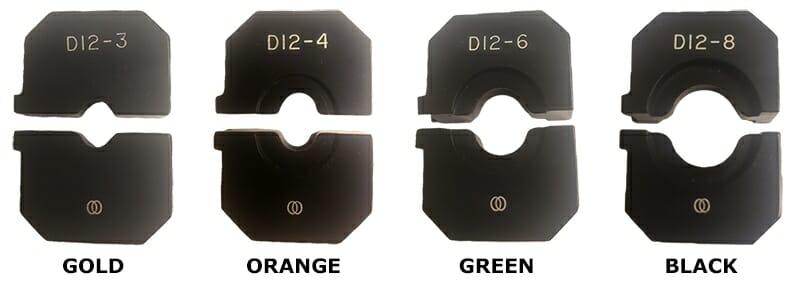 Locoloc® SL-7NDK-SB Battery Handswager Die Sets
